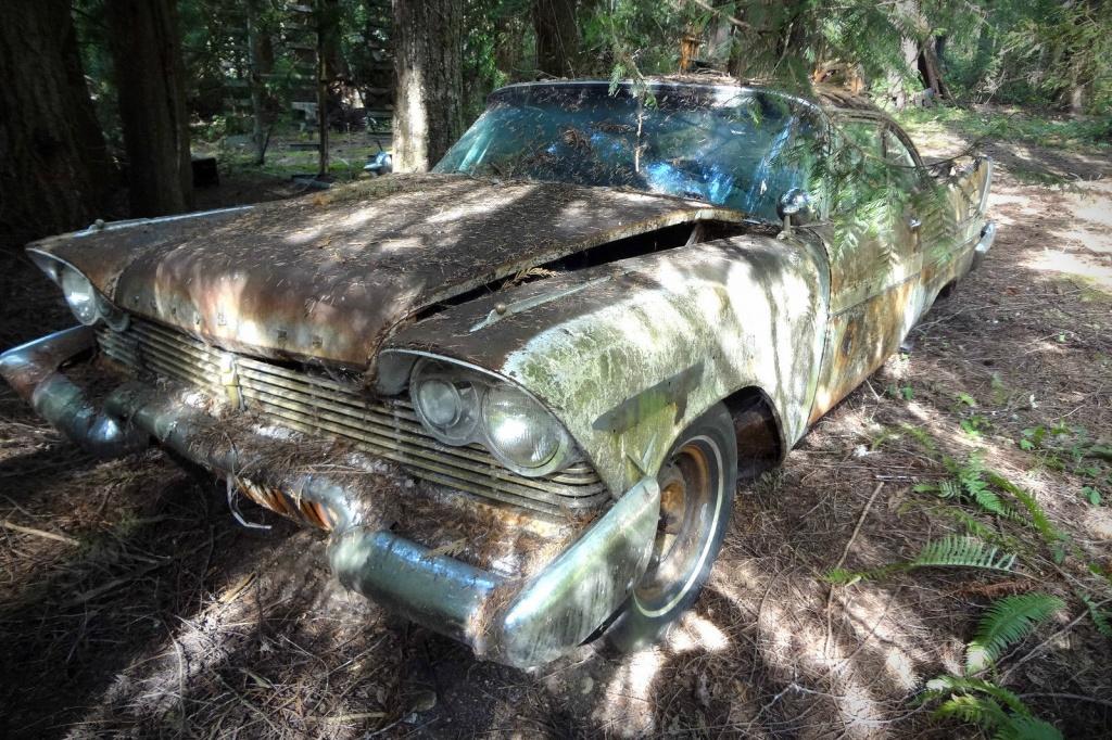 Ugly Car Wallpaper 1957 Plymouth Fury Bramble Beaten