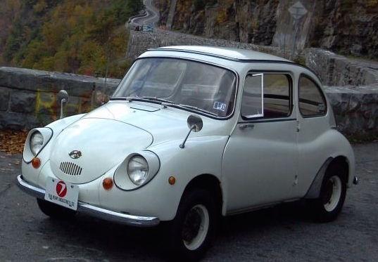 1969 Subaru 360 Running Ladybug