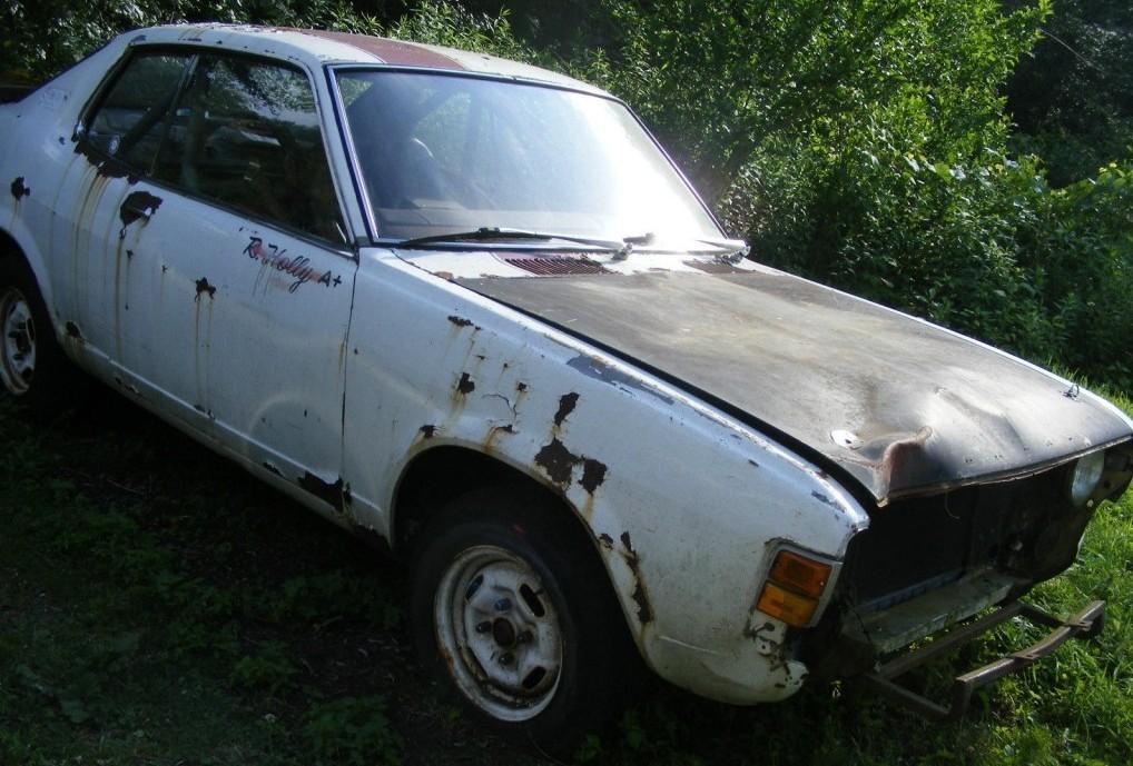 Ex Rally Car 1976 Dodge Colt GT