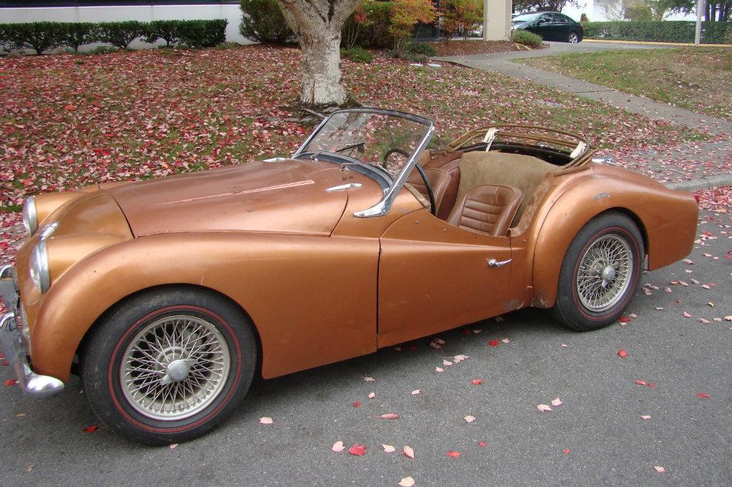 Hanger Find 1961 Triumph TR3A