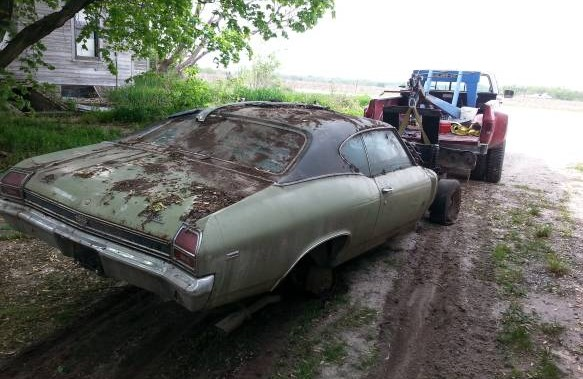 1969 Chevelle Ss 396 335 Miles From New