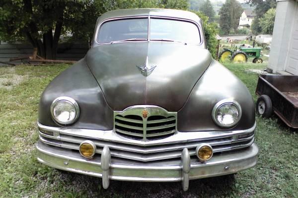 Time Capsule 1948 Packard 8 Sedan