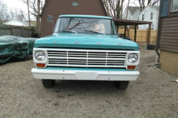 Long Bed Beauty 1968 Ford F100 Pickup
