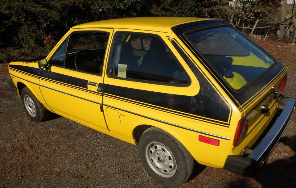 1978 Ford Fiesta With 1200 Original Miles