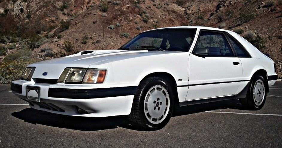 No Reserve Survivor 1986 Ford Mustang SVO
