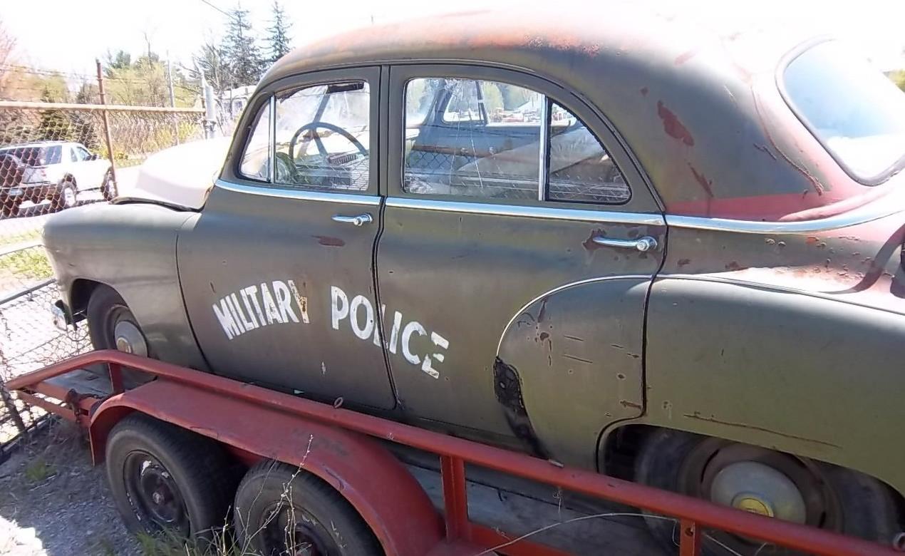 Military Police 1950 Chevrolet Sedan