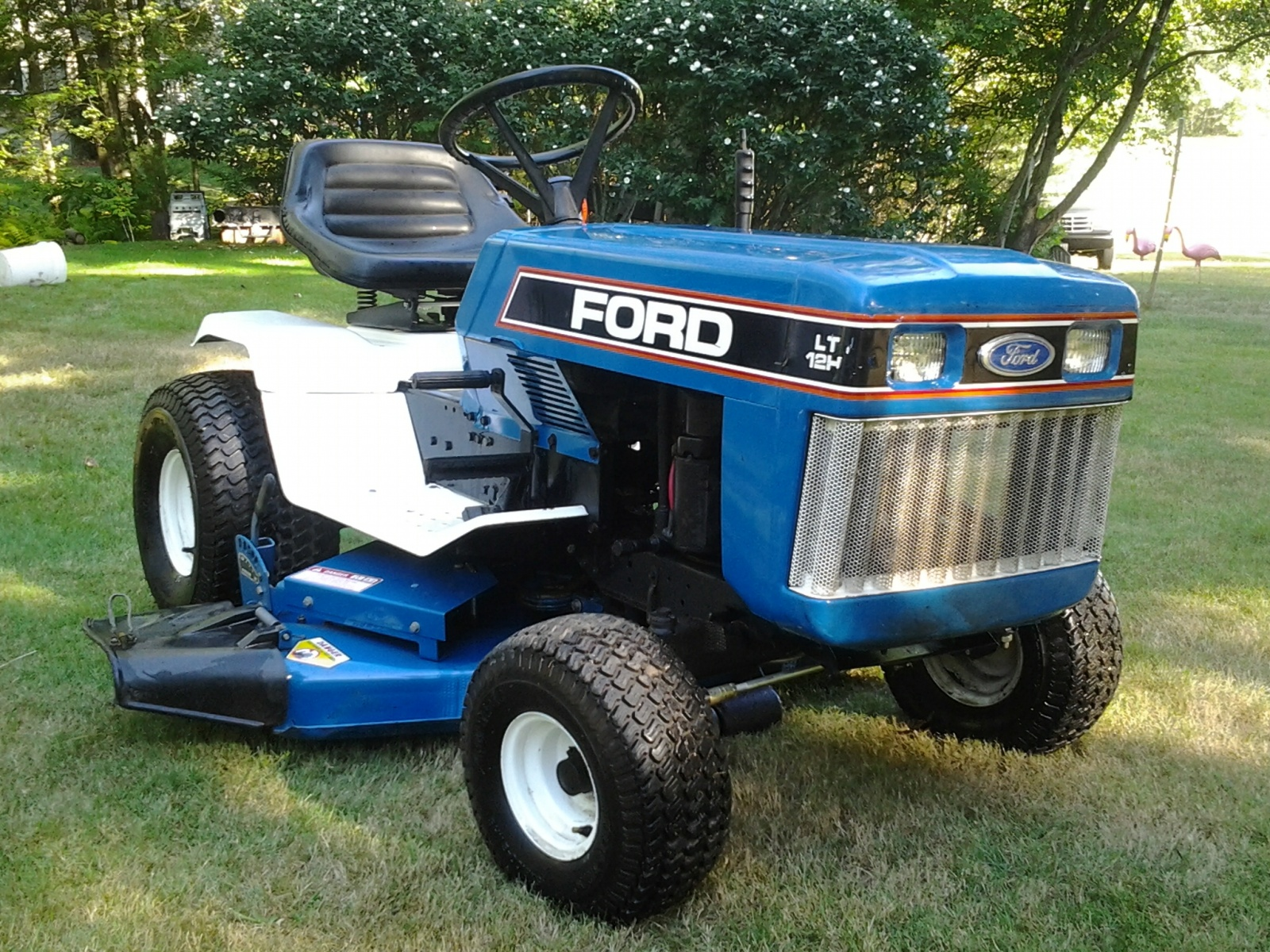 hight resolution of tiny tractor ford lgt 120 garden tractor rescued