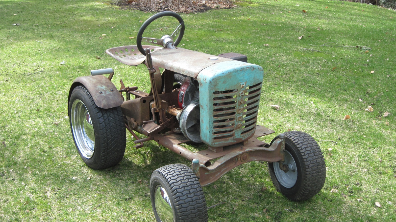 hight resolution of 1962 tiny tractor ford lgt 120 garden tractor 1962 ford lgt 125 pto wiring diagram