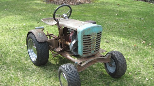 small resolution of 1962 tiny tractor ford lgt 120 garden tractor 1962 ford lgt 125 pto wiring diagram