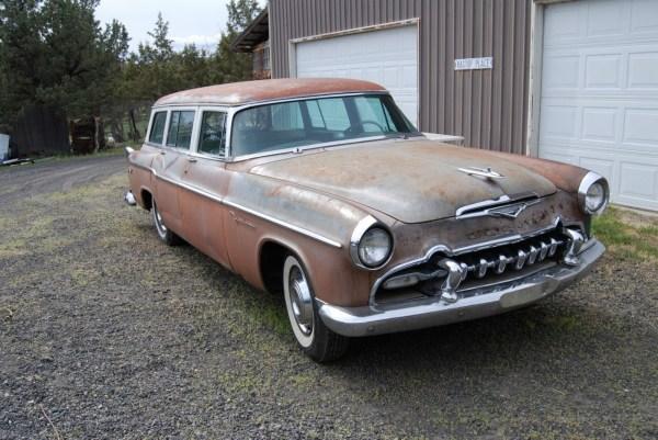 Rare Delight 1955 Desoto Station Wagon