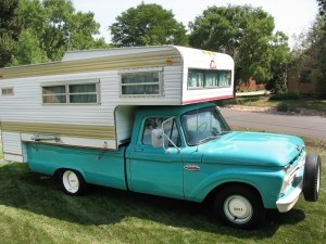20,370 Miles!: 1966 Ford F100 Camper Special