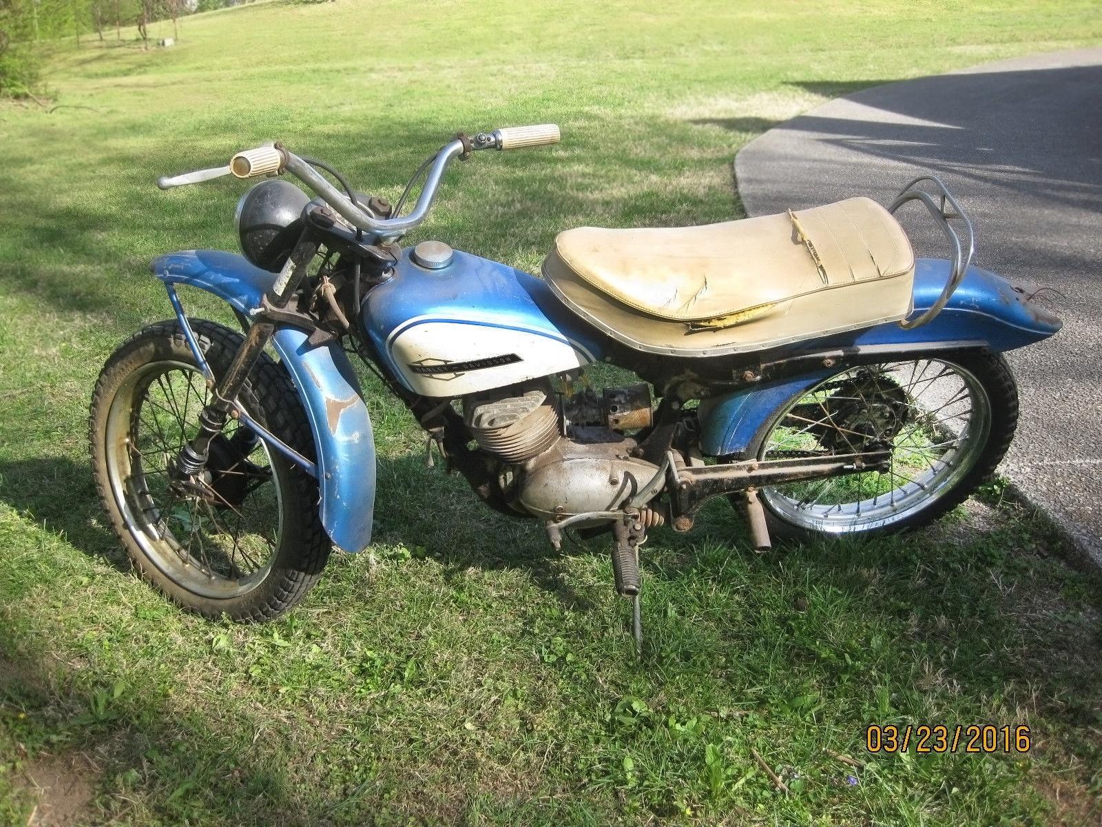 Milwaukee DKW 1964 Harley Davidson Scat