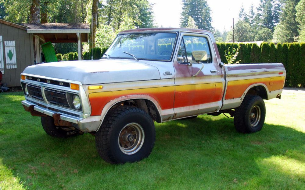 medium resolution of 1977 ford f 150