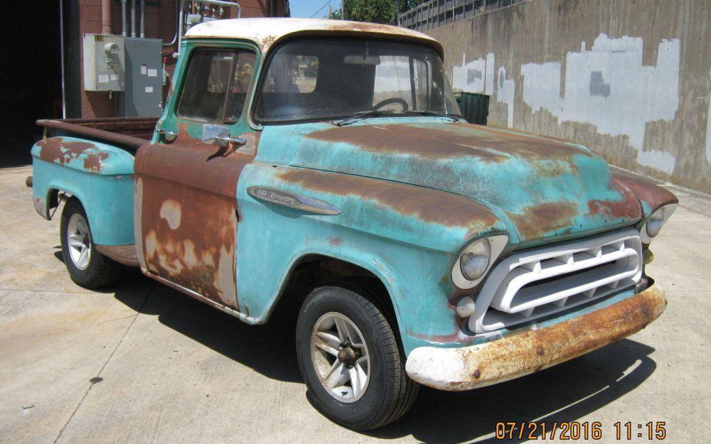 medium resolution of 1957 chevrolet truck