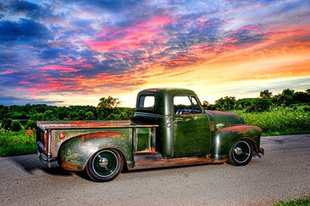 Old Truck Patina Paint Job