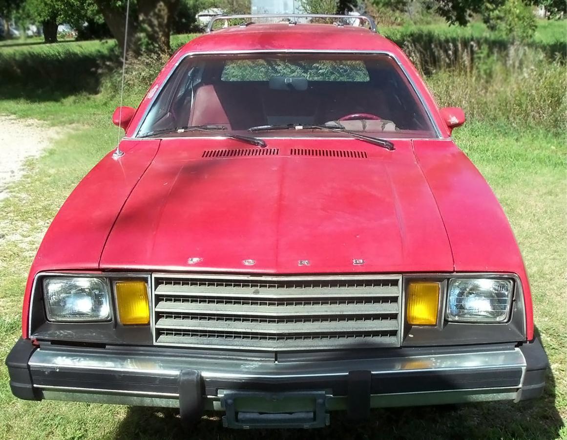 2995 and 36000 miles 1980 Ford Pinto Wagon