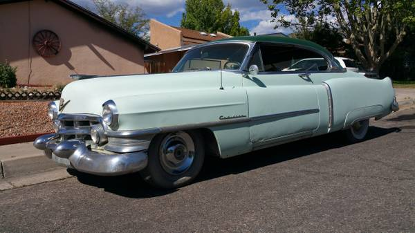 Affordable Luxury 1952 Cadillac Coupe De Ville