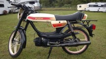 1981 Puch Moped - Year of Clean Water