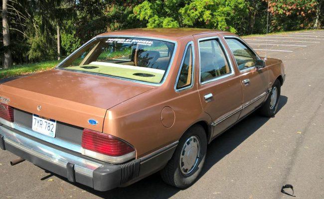 Biodiesel Equipped 1984 Ford Tempo Survivor