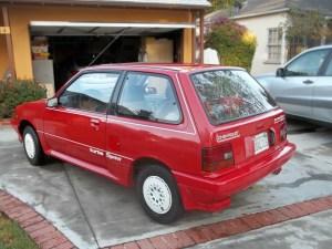 Red Rocket: 1987 Chevrolet Sprint Turbo