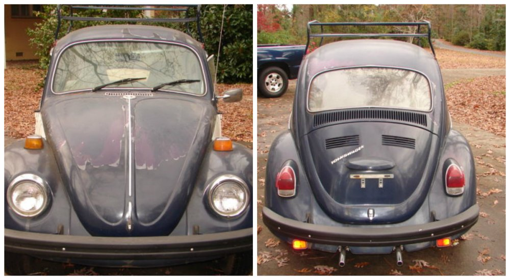 medium resolution of as you can see some of the customization has taken place on this car i m pretty sure 1970 beetles didn t come with two tone paint i know they didn t come