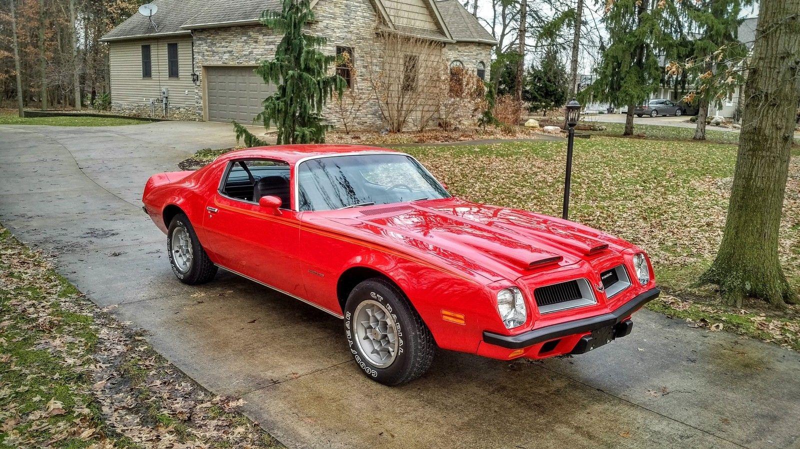8205 Original Miles 1974 Pontiac Firebird