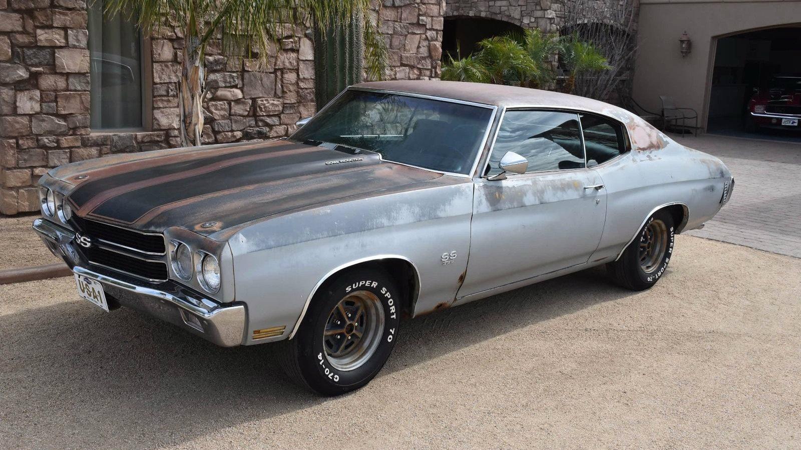 Best Barn Find Ever 1970 Chevrolet Chevelle