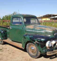 seller that has the mercury m 250 truck we featured recently you can see it in the background of some of the pictures you can find this 1951 ford f1  [ 1200 x 675 Pixel ]