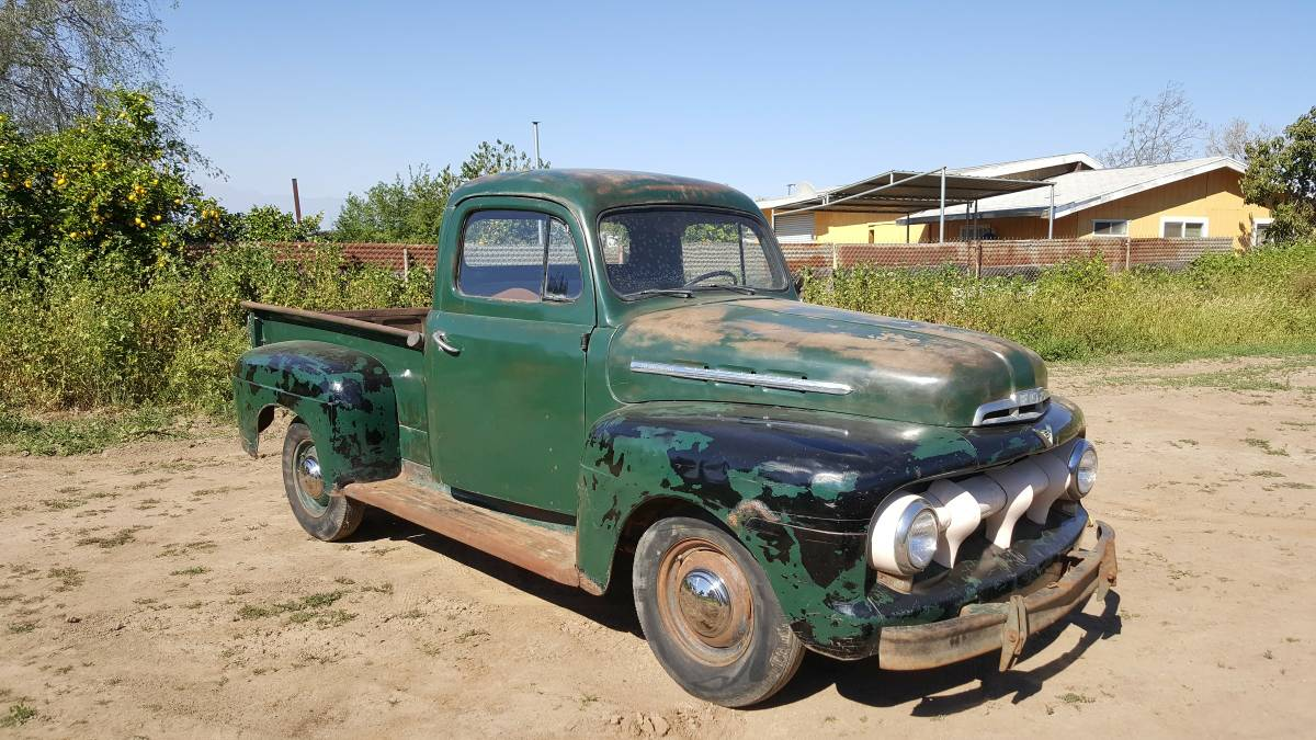 hight resolution of  seller that has the mercury m 250 truck we featured recently you can see it in the background of some of the pictures you can find this 1951 ford f1