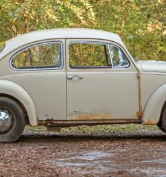 exterior it is easy to see this volkswagen wears some patina but to what extent is the question the exterior shows nicely with lots of original paint  [ 1493 x 840 Pixel ]