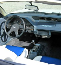the interior of the first generation crx is simple and has a lot of plastic the simplistic interior is actually very charming and very well laid out with  [ 1195 x 673 Pixel ]