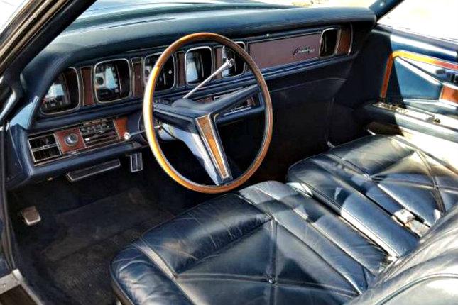 Actor Seeking Work 1971 Lincoln Mark III