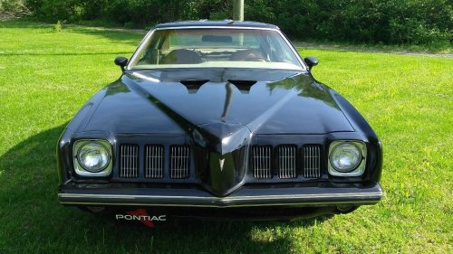 small resolution of the naca ducts in the hood are i think please correct me if i m wrong actually from a 1973 gto and i can find no reference to them ever being factory for