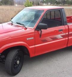 88 mazda b2200 mini truck [ 1600 x 900 Pixel ]