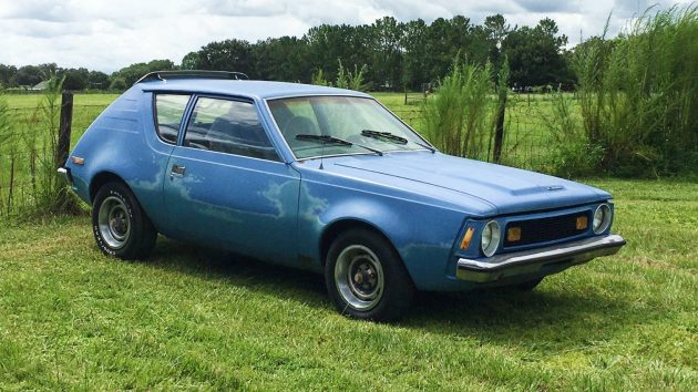 Acid Wash Denim 1973 AMC Gremlin X Levi Edition