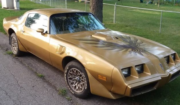 Solid Gold Bandit 1979 Pontiac Trans Am