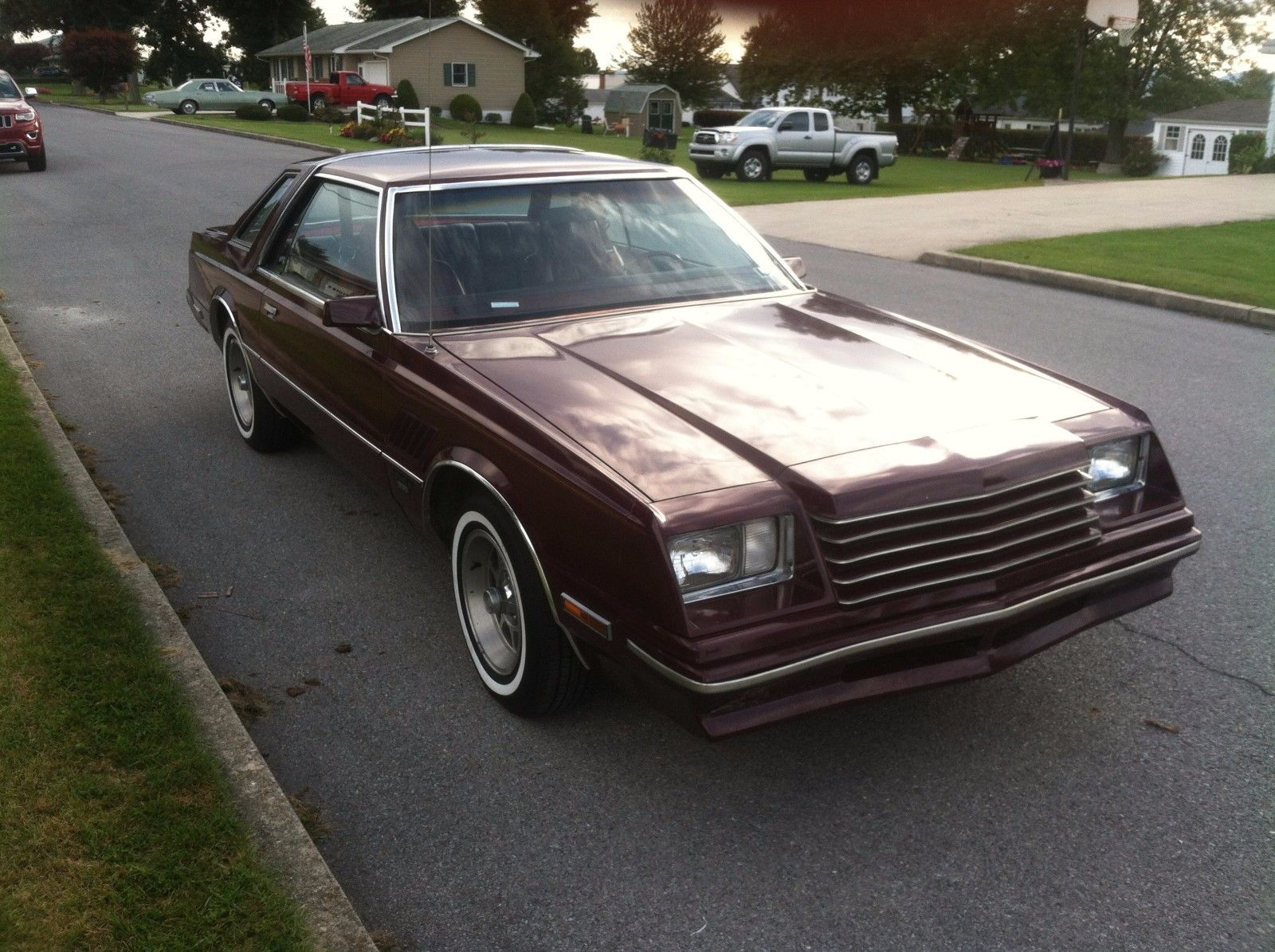 A Return To My Youth 1980 Dodge Mirada Cmx
