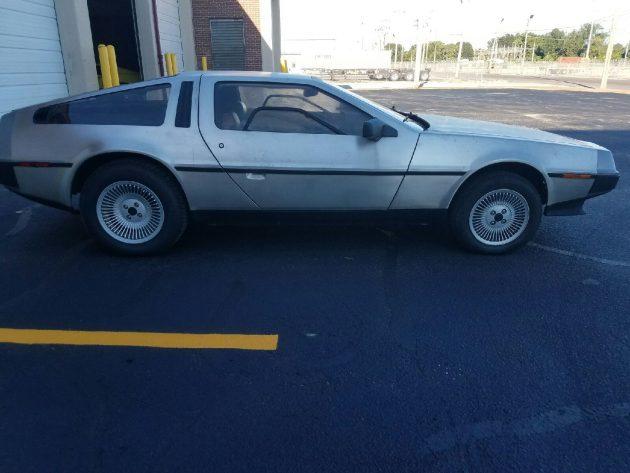 No Rust Here 1982 DeLorean DMC12