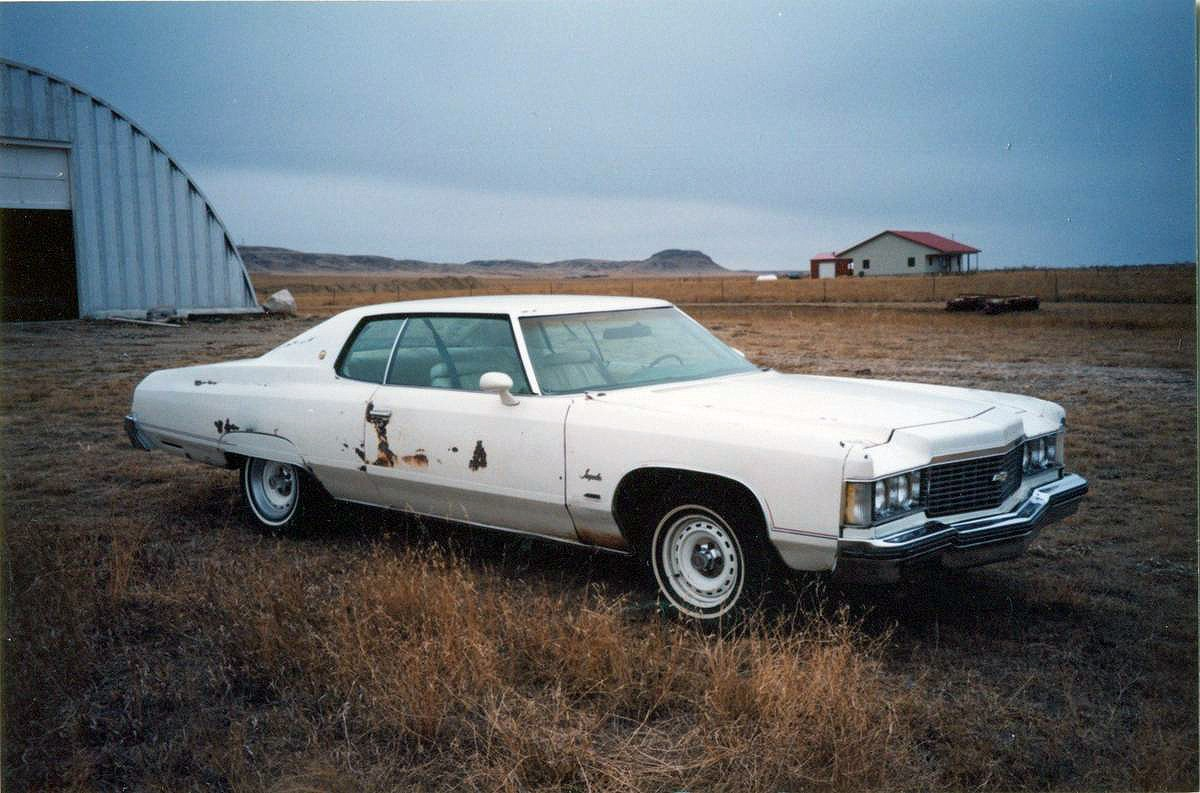 Spirit Of America Edition 1974 Chevrolet Impala