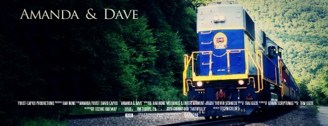 Amanda & Dave – Jim Thorpe Wedding Film – Scenic Train