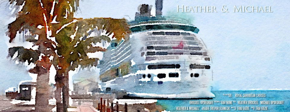 Bermuda Cruise Destination Wedding FIlm