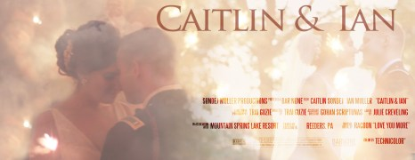 Caitlin & Ian – Mountain Springs Lake – Wedding Feature Film