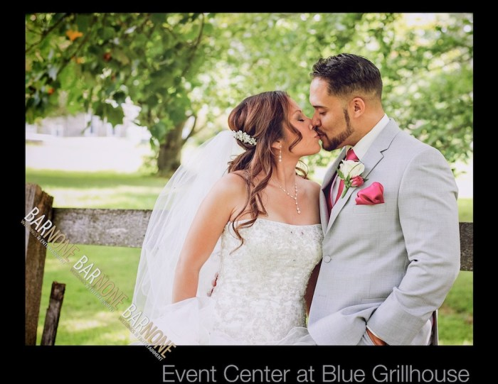 Bar None Photography - Event Center at Blue Grillhouse Wedding 1069