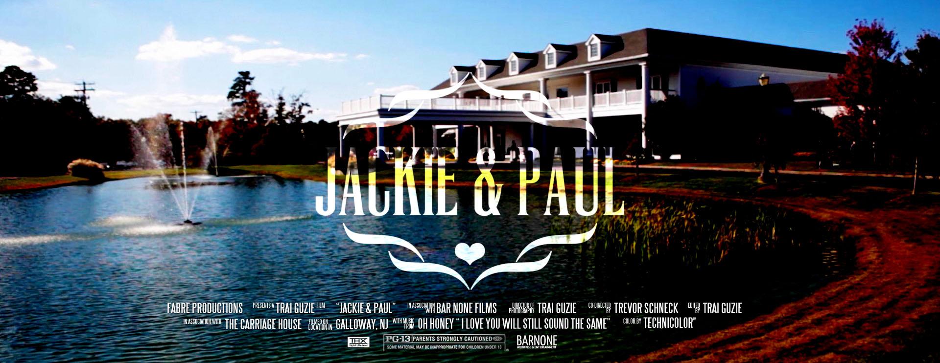 Thumbnail Carriage House Wedding Film Galloway NJ Video