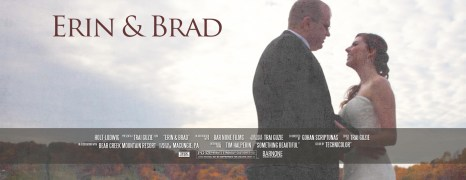 Erin & Brad – Bear Creek Mountain Resort – Wedding Highlight Film