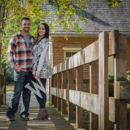 Danielle and Matthew Engagement Photography at Lockridge Park