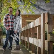 Danielle and Matthew Engagement Photography at Lockridge Park