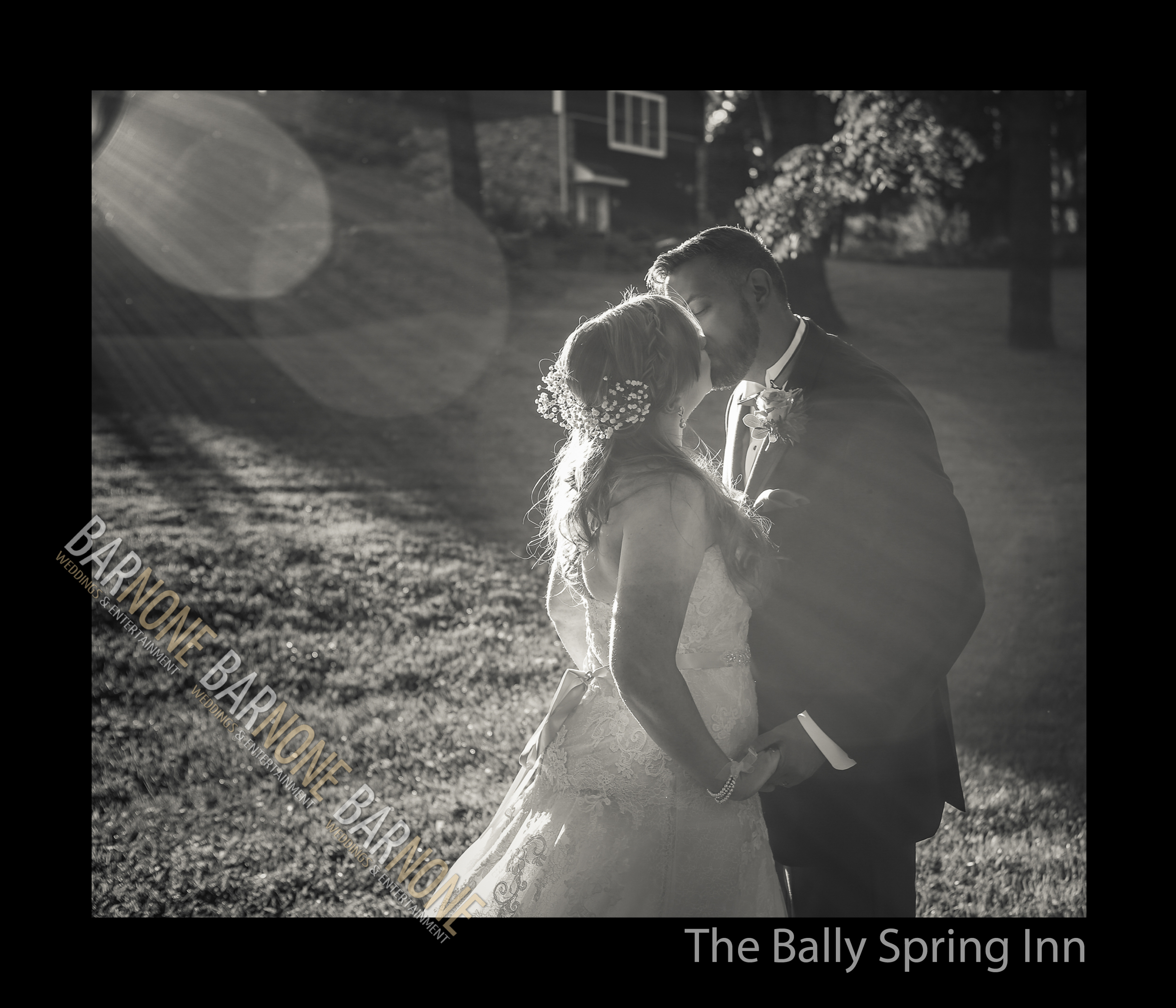 Bally Spring Inn Wedding Photography - Bar None Photography