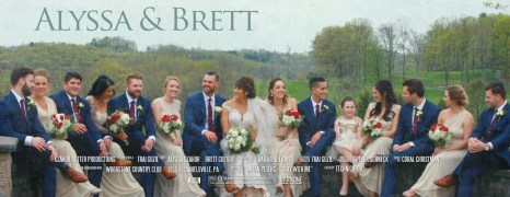 Alyssa & Brett – Woodstone Country Club – Wedding Highlight Film – Lehigh Valley, PA