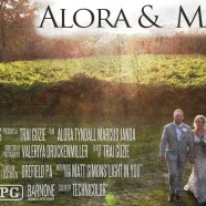 Alora & Marcus – Monterre Vineyards – Wedding Same Day Edit Reaction Video – Lehigh Valley PA